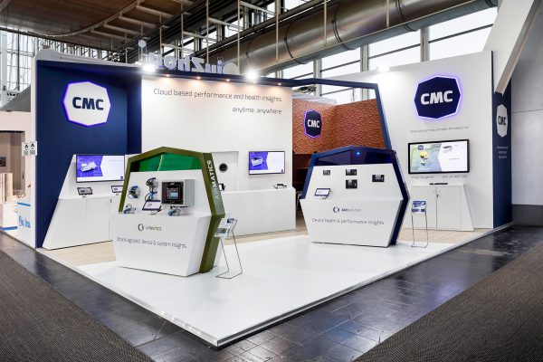 CMC Hannover Messe Exhibition Stand