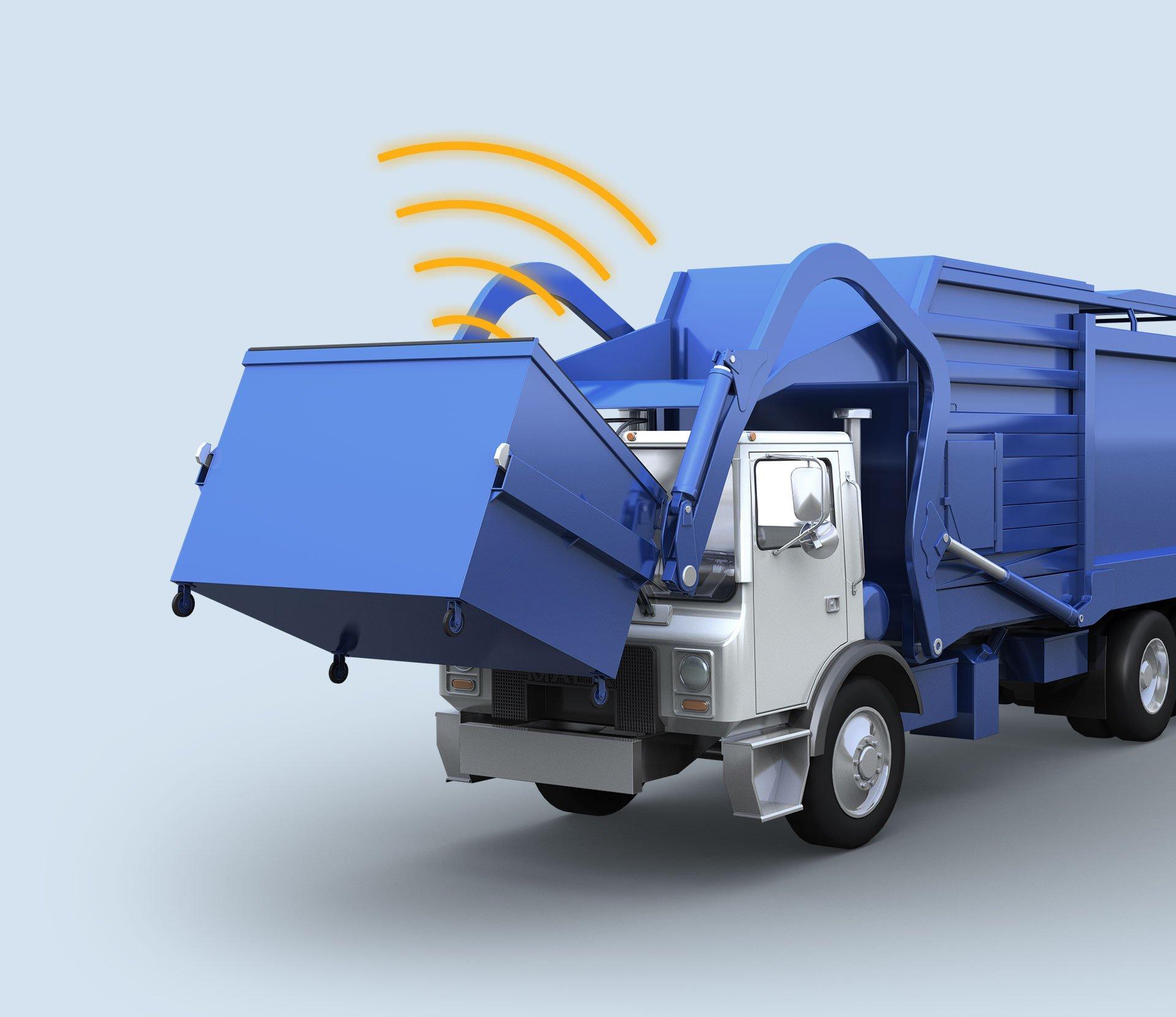 Garbage Truck Render