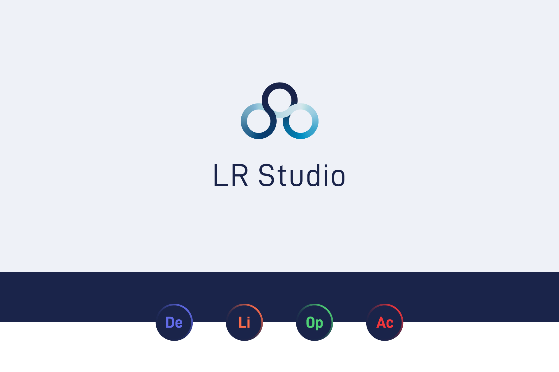 LR Studio Software Icons