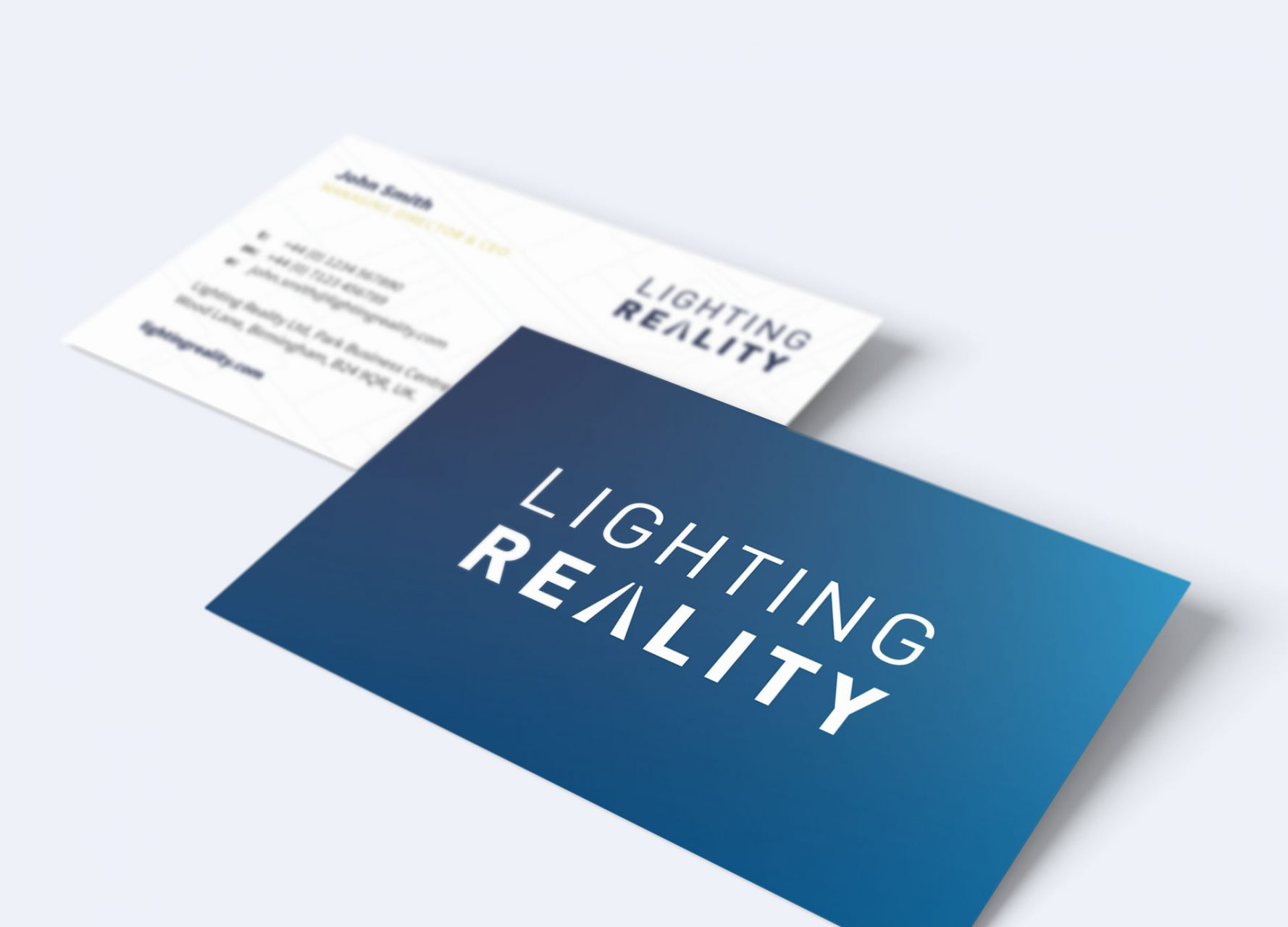 Lighting Reality Business Cards