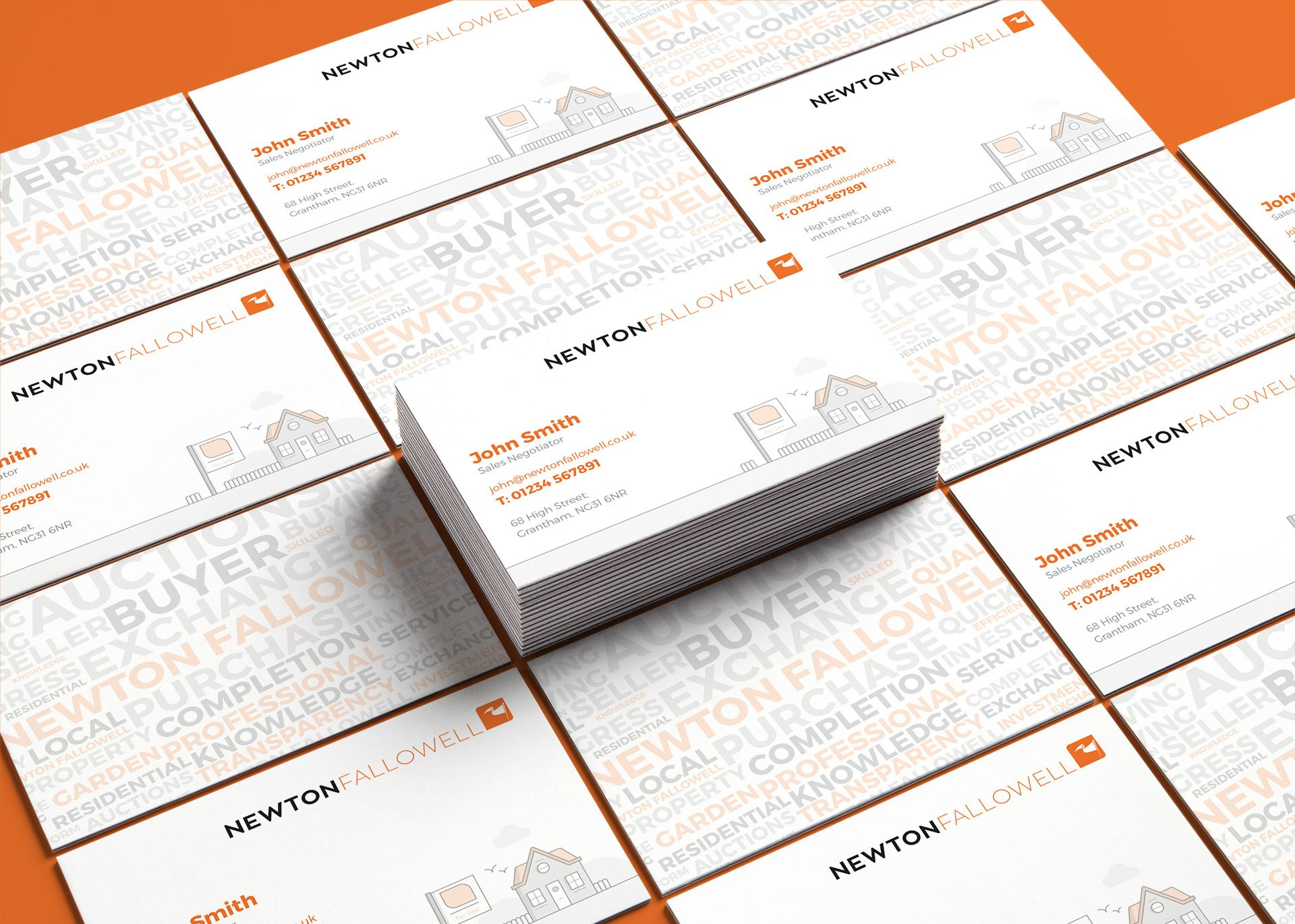 Newton Fallowell Business Cards