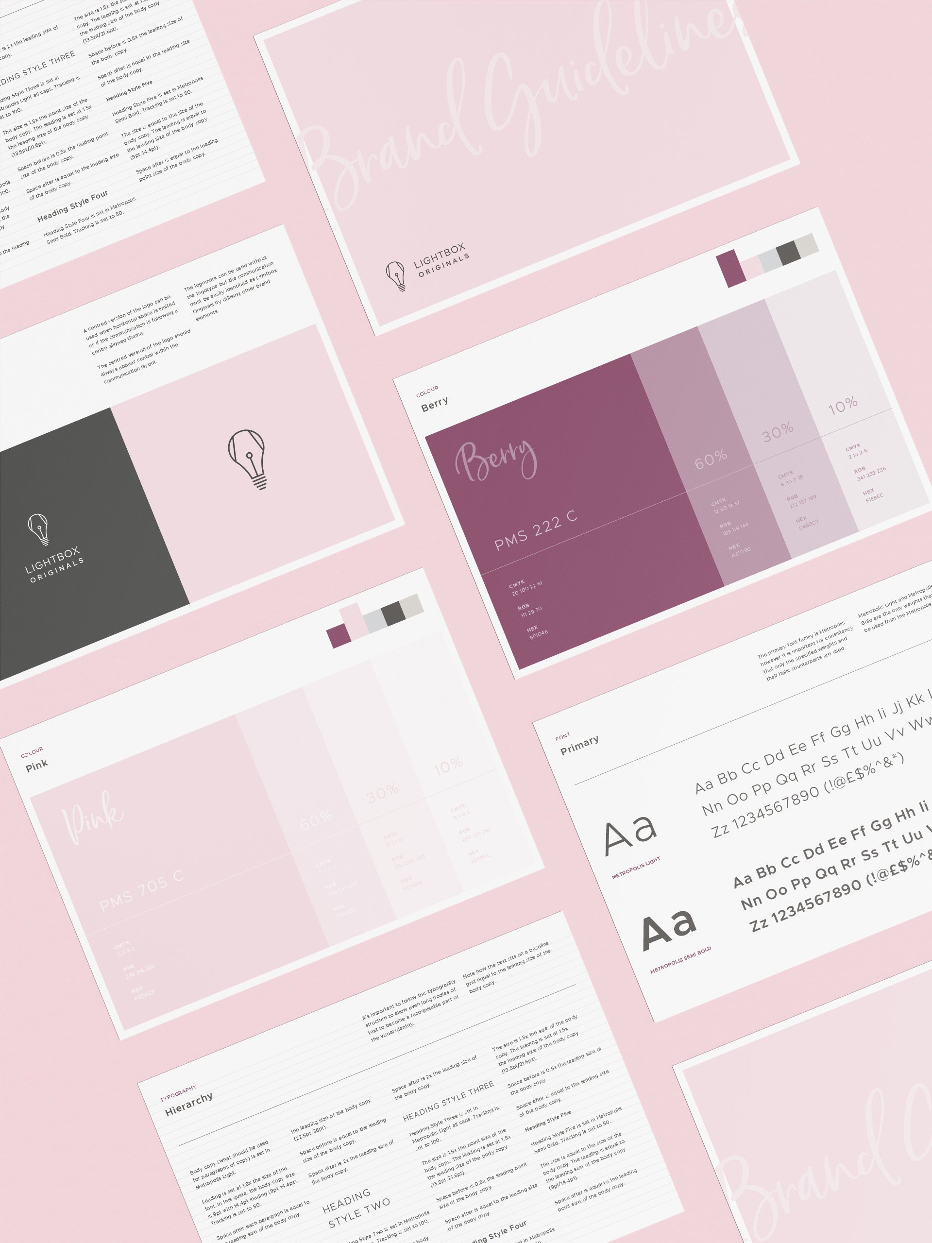 Lightbox Originals Brand Style Guide