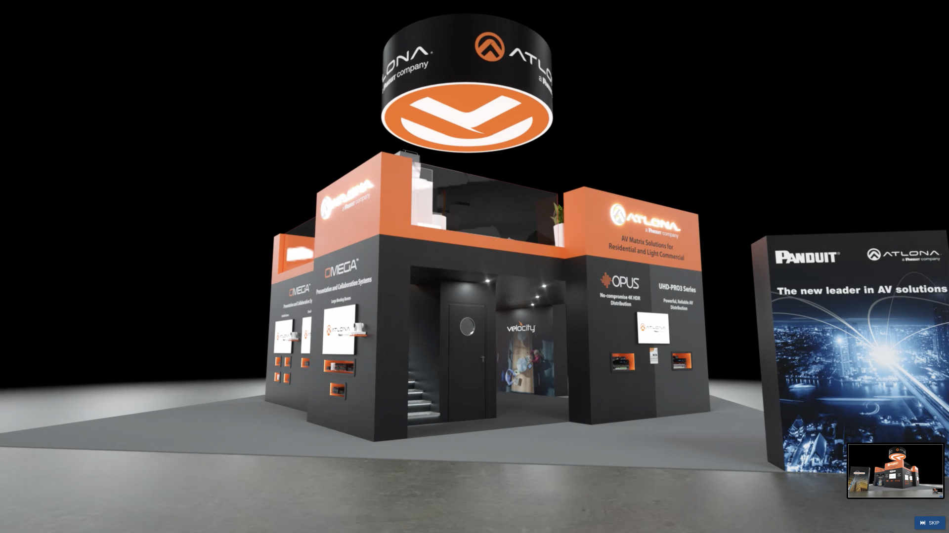 Virtual Exhibition Stand