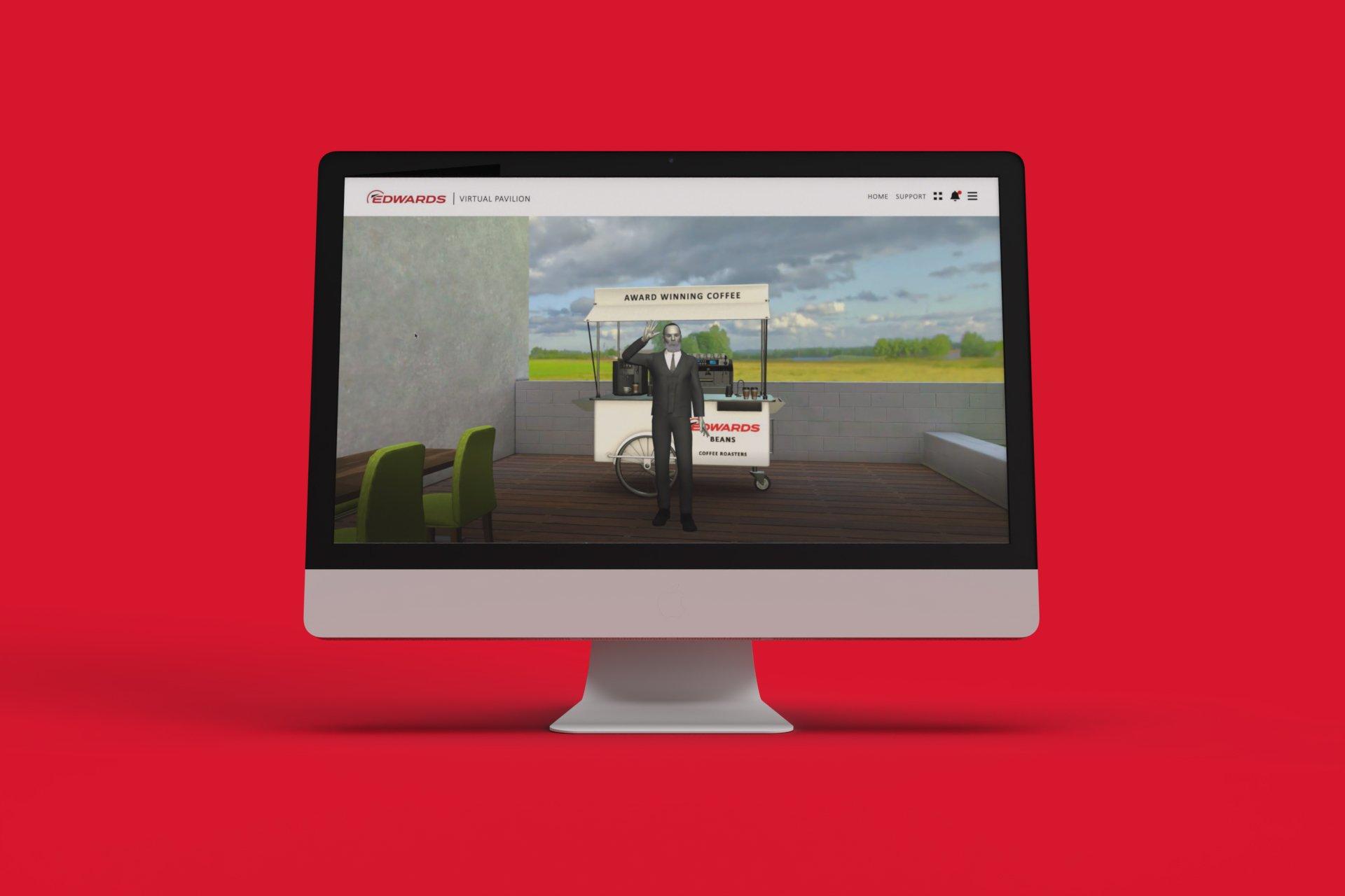 Edwards Virtual Pavilion on Device