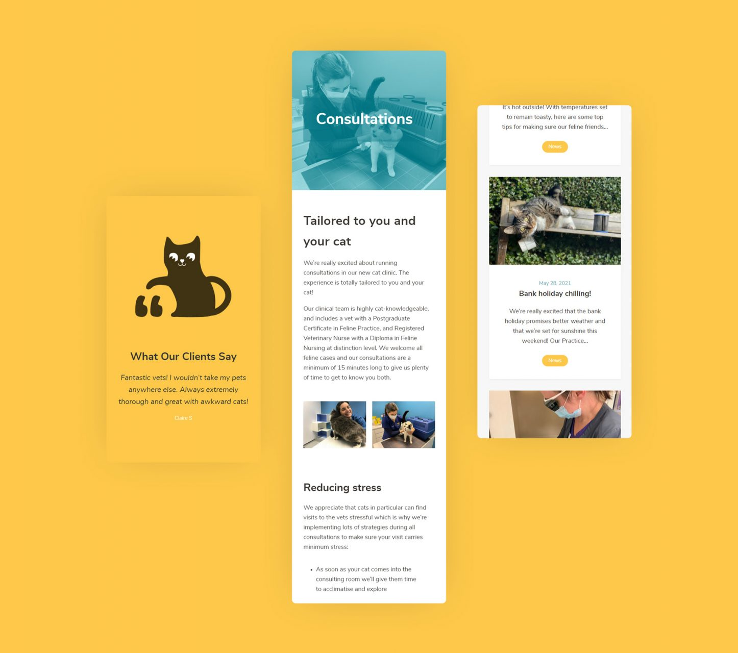 West Midlands Cat Clinic Responsive Website