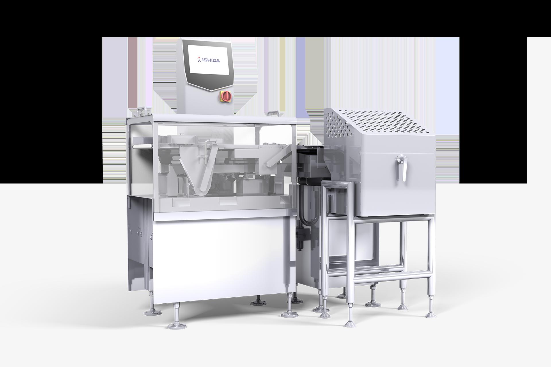 3D Machine Render For Ishida