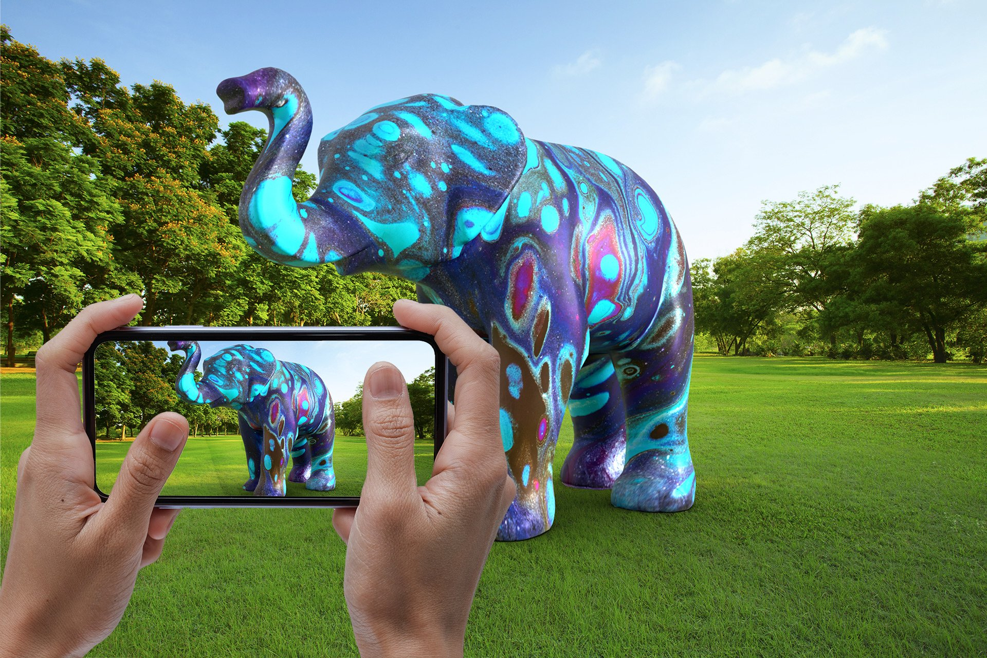Elephant In The Room Augmented Reality